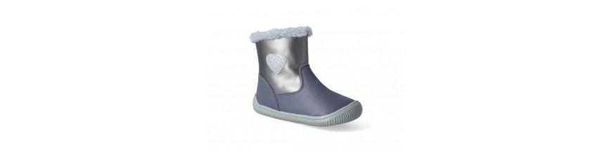 Zimné barefoot topánky